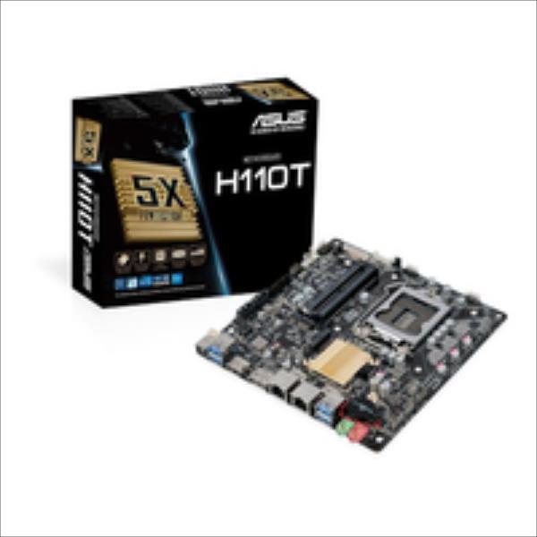 MB ASUS H110T     (Intel,1151,DDR4,mITX) pamatplate, mātesplate