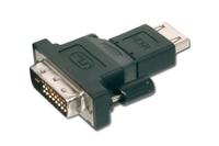 ASSMANN DVI-D SingleLink Adapter DVI-D (18+1) M (plug)/HDMI A M (plug) black karte