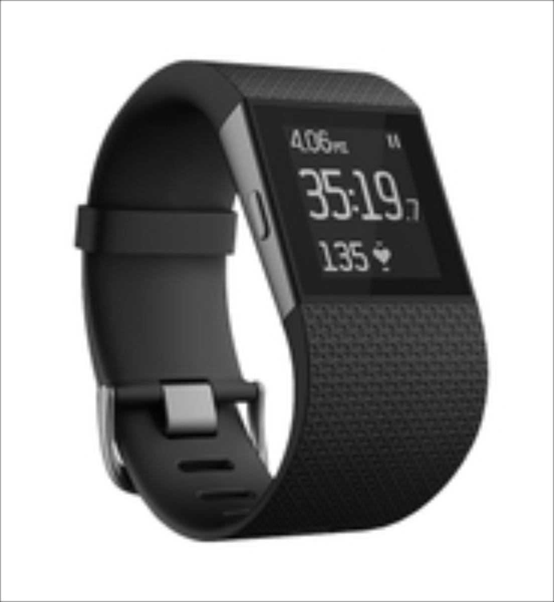 Fitbit Surge, Small- Black Viedais pulkstenis, smartwatch