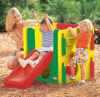 Little Tikes Junior Gym (413910060) Rotaļu mājas un slidkalniņi
