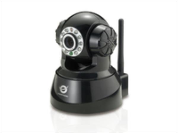 Conceptronic CIPCAMPTIWL IPCam Desktop Indoor Wireless Pan&Tilt black