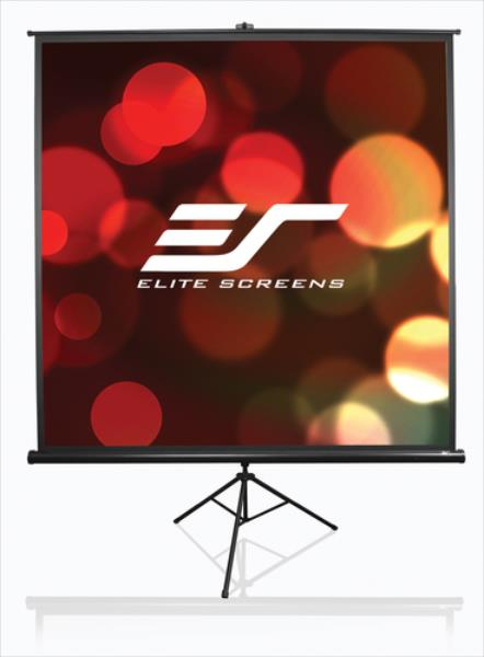 Elite Screens Tripod T100UWH 16:9 221x124cm black ekrāns projektoram