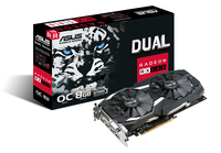 ASUS Radeon RX 580 DUAL-RX580-O8G 8GB video karte