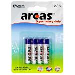 Arcas Super Heavy Duty AAA (LR03), 4- pack Baterija