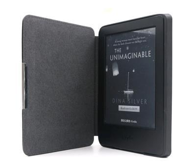 C-TECH PROTECT ''hardcover'' Case for Kindle 8 Touch with WAKE/SLEEP, black Elektroniskais grāmatu lasītājs