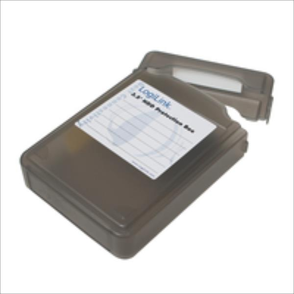 LOGILINK - Box protective to HDD3.5'' black cietā diska korpuss