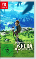 Nintendo Switch Legend of Zelda Breath of the Wild spēle