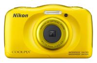 Nikon COOLPIX W100 yellow Digitālā kamera