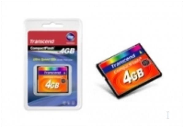 Transcend Compact Flash 4GB High Speed 133x atmiņas karte