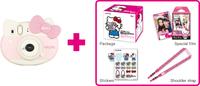 Fujifilm Instax Mini Hello Kitty inkl. 10er Instax Mini Film Digitālā kamera