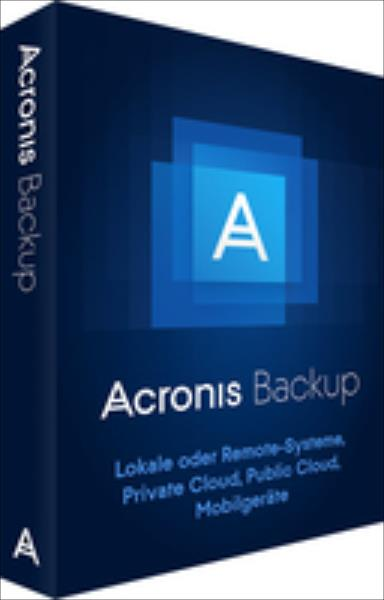 Acronis Backup 12.0 Virtual Host Box dt. programmatūra