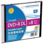 DVD+R Double Layer ESPERANZA [ Slim 1 | 8,5 GB | 8x ] matricas