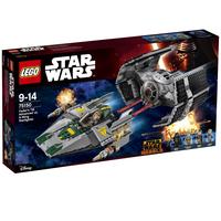 LEGO  Star Wars Vaders TIE Advanced vs. A-Wing Star 75150 LEGO konstruktors