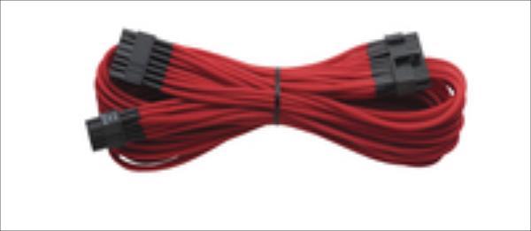 Corsair Individually Sleeved ATX Cable 24pin Type 3 (Generation 2), RED kabelis datoram