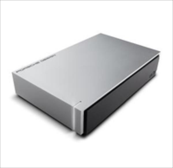 LaCie Porsche Design 3TB, USB 3.0, for MAC, Aluminium, External,1Y6AP1-570 Ārējais cietais disks