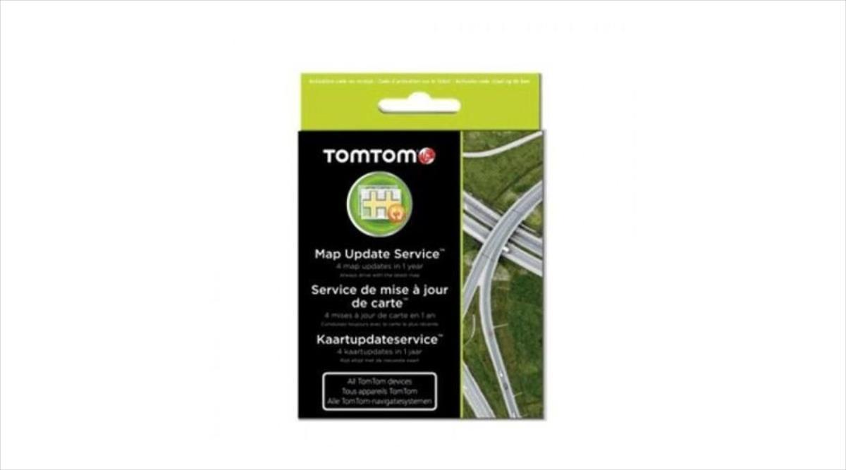 TomTom Map Update Service 1 Year (4 Updates) Sporta kameru aksesuāri