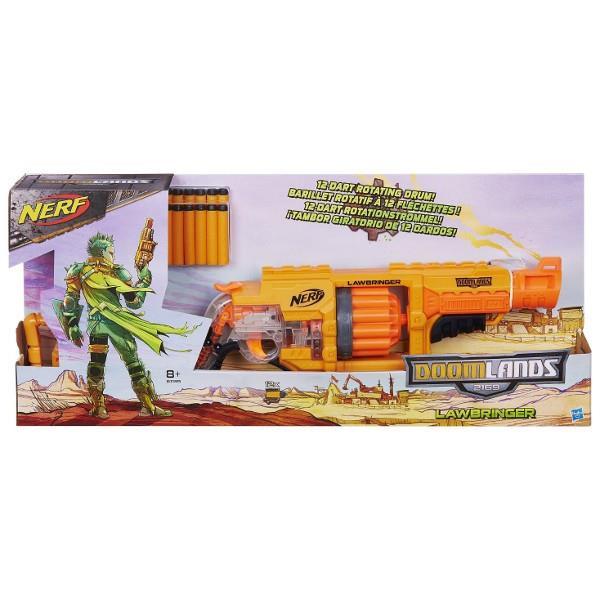 Hasbro Nerf Doomlands Lawbringer B3189 Rotaļu ieroči