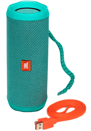 JBL FLIP 4 Bluetooth Tirquise pārnēsājamais skaļrunis