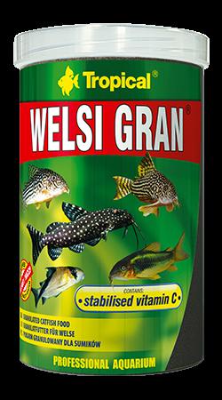Tropical Welsi Gran 100ml zivju barība