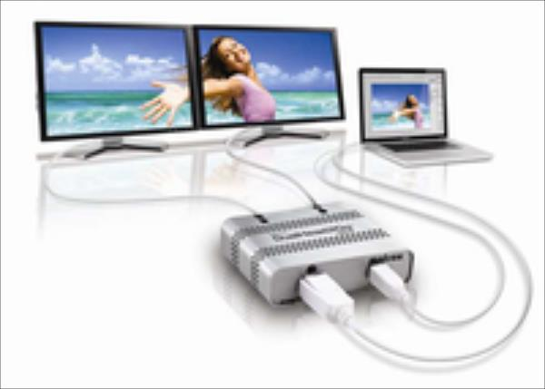 MATROX DualHead2Go Digital ME, 2xDVI-D, miniDP/Thunderbolt output video karte