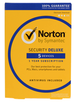 Norton Security 3.0 Deluxe 1User 5Device 1J Card Case dt