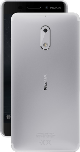 Nokia 6 Dual SIM 32GB Android silver Mobilais Telefons