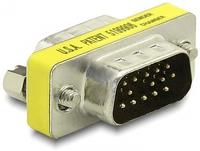 Delock Adapter VGA male/male karte