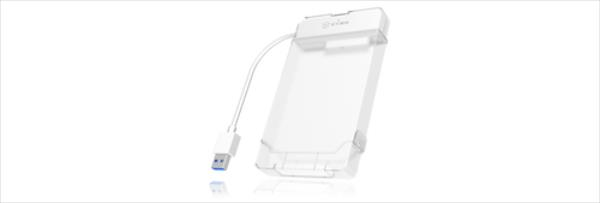 Icy Box USB 3.0 Adapter cable for 2.5'' SATA HDD and SSD, White cietā diska korpuss