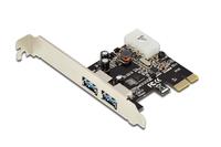 Digitus DS-30220-4 2-Port USB 3.0 PCI Express Karte karte