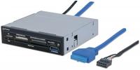 Manhattan Internal USB 3.0 multi-card reader 34-in-1 Smart Card SIM karšu lasītājs