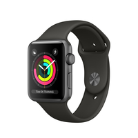 Apple Watch Series 3 42mm Aluminium Grey / Sport Band grey Viedais pulkstenis, smartwatch