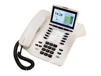 Systemtelefon AGFEO ST45 IP reinWhite telefons