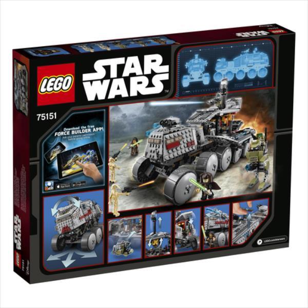 LEGO Clone Turbo Tank V29  75151 LEGO konstruktors
