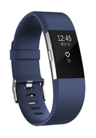 Fitbit Charge 2 Blue/Silver Large Viedais pulkstenis, smartwatch