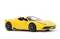 JAMARA Ferrari 458 Speciale A 1:14 yellow - 405067 Radiovadāmā rotaļlieta