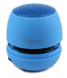 Portable speaker Gembird SPK-103-B, Audio 3.5mm, 2W, 40mm, 400mAh, 6h pārnēsājamais skaļrunis