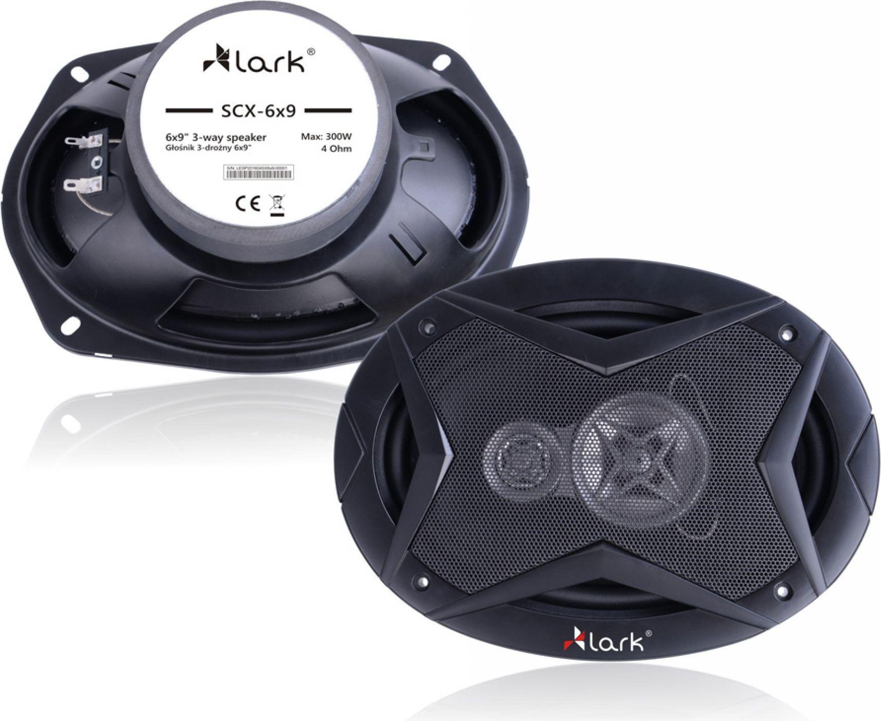 Lark SCX-6x9 auto skaļruņi