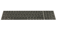 HP Inc. Keyboard (ENGLISH) With Touchpad & Numeric Keyb. 702237-031