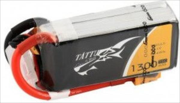 Gens Ace & TATTU 1550mAh 11.1V 75C TATTU Gens Ace (Specially Made for Victory) (TA-75C-1550-3S1P-R) Droni un rezerves daļas