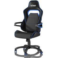 Nitro Concepts E220 Evo fotel gamingowy - Black-Blue datorkrēsls, spēļukrēsls