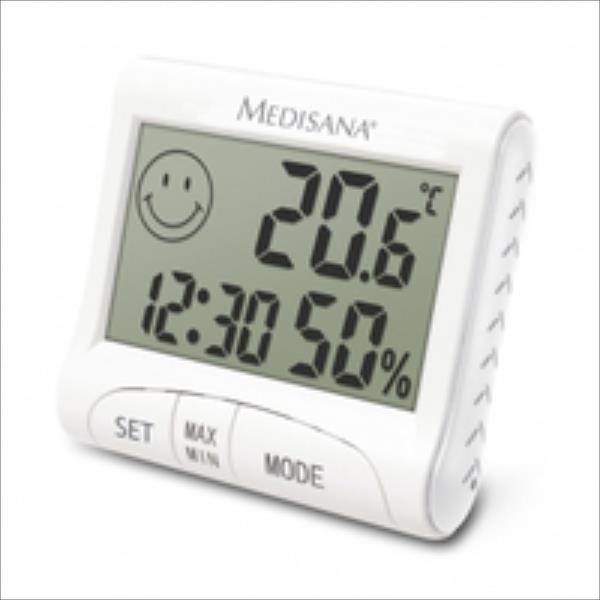 Medisana Digital Thermometer + Hygrometer HG 100 barometrs, termometrs
