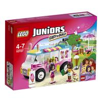 Juniors Furgonetka z lodami Emmy LEGO konstruktors
