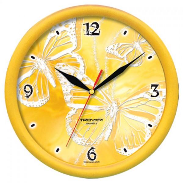 Troyka sienas pulkstenis, 245mm Sienas pulkstenis
