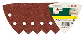 Bosch paper abrasive Delta 40 25 pieces