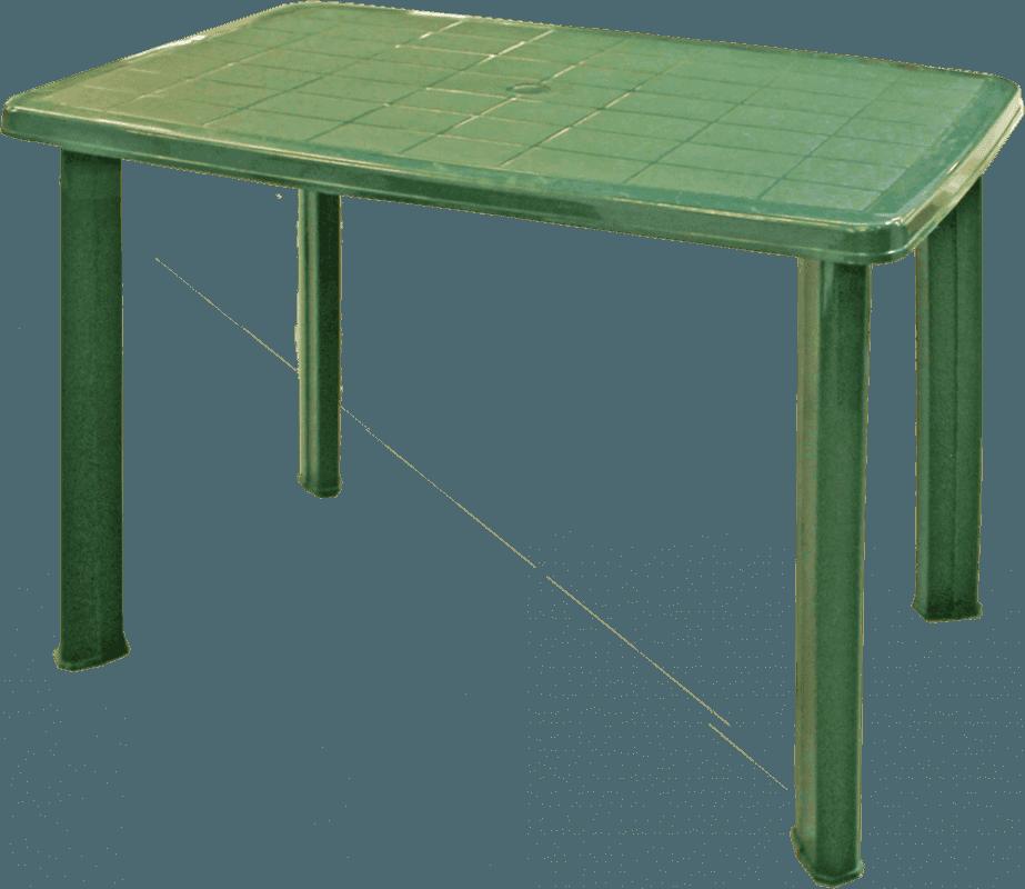 Galds Faretto 100x70cm zaļš Dārza mēbeles