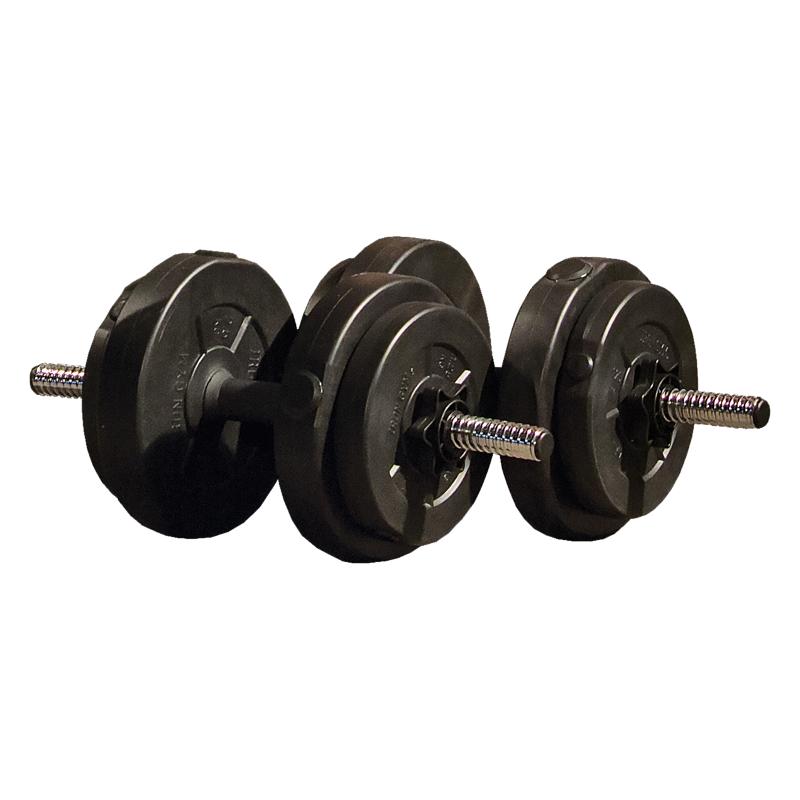 Iron Gym 15kg Adjustable Dumbbell Set hanteles