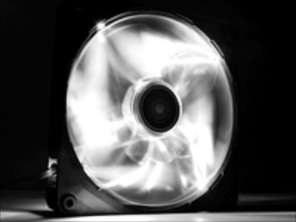 NZXT High Airflow fan 140x140x25mm, White LED ventilators