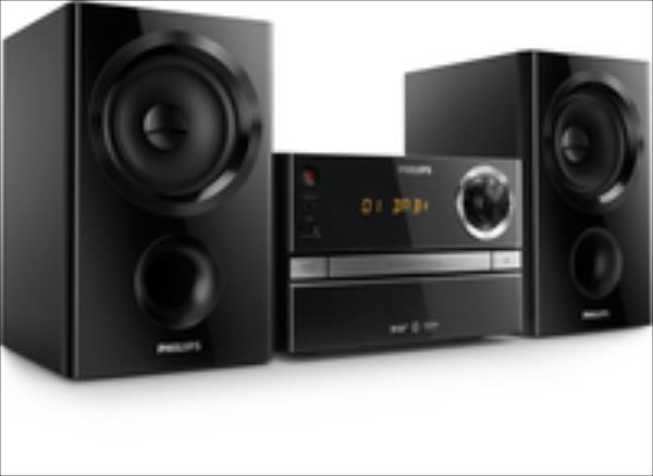 PHILIPS Mikro sistēma, DAB+ CD, MP3-CD, USB, FM,  30W BTB1370/12 mūzikas centrs