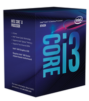 Intel Core i3-8100 3,6 GHz (Coffee Lake) Socket 1151 - boxed CPU, procesors