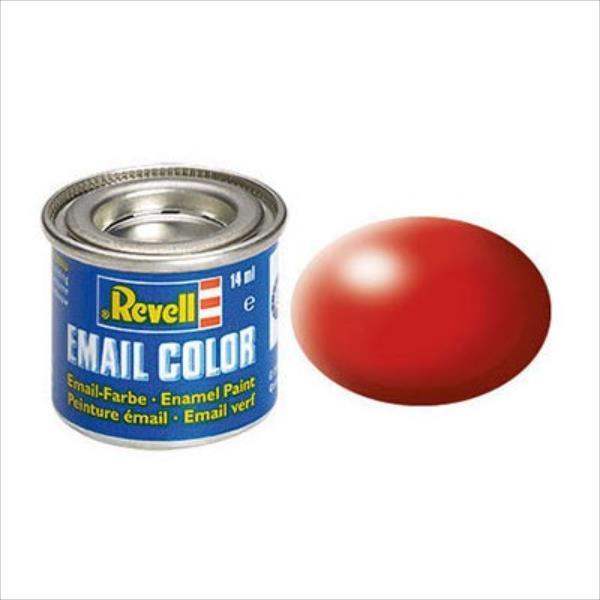 REVELL Email Color 330 Fiery Red Silk biroja tehnikas aksesuāri